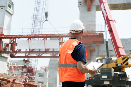 Architektur, Baugewerbe, Safety First Careerconcept