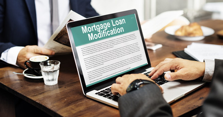 request: Mortgage Loan Request Modification Document Concept