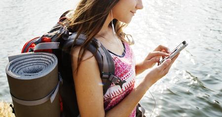 wanderlust: Expedition Outdoors Travel Wanderlust Explore Concept