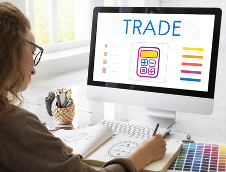 Saving Trade Account Commerce Concept