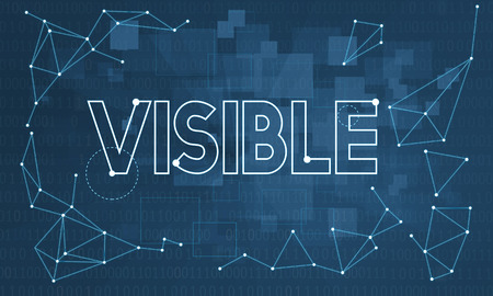 observable: Noticeably Observable Visible Vision Visibility Concept Stock Photo