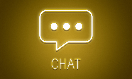 Chat and communication concept