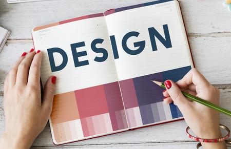 create: Create Creativity Ideas Design Concept Stock Photo