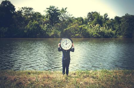 punctual: Time Urgent Alarm Clock Chance Punctual Concept