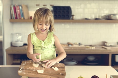 patisserie: Flour Dessert Cookie Dough Cake Bakery Girl Concept