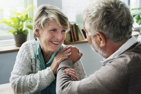 pensioner: Together Pensioner Happiness Couple Retirement Concept