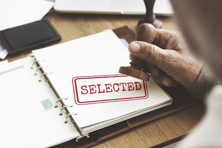 selected: Selected Decision Result Selection Yes Status Concept