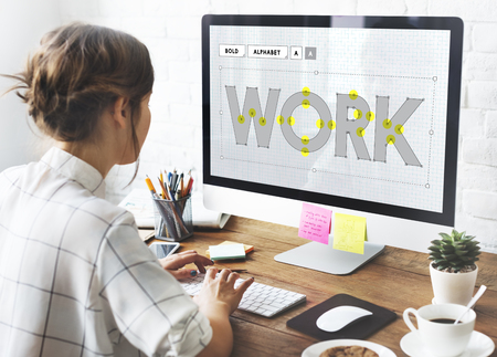 Work Working Recruitment Occupation Career Concept Stock Photo - 63696459