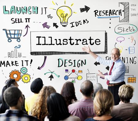 illustrator: Illustrate Illustrator Drawing Painting Sketch Concept