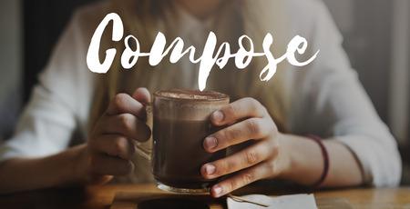 compose: Compose Composer Composing Composition Concept Stock Photo