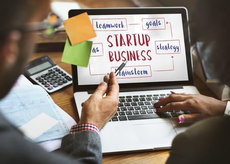 innovating: Startup Business Entrepreneurship Ideas Concept