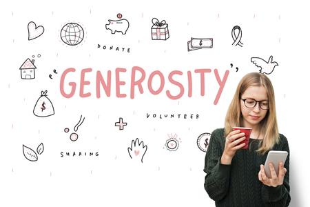 generosity: Las donaciones generosidad Fundaci�n Caridad Concepto Soporte