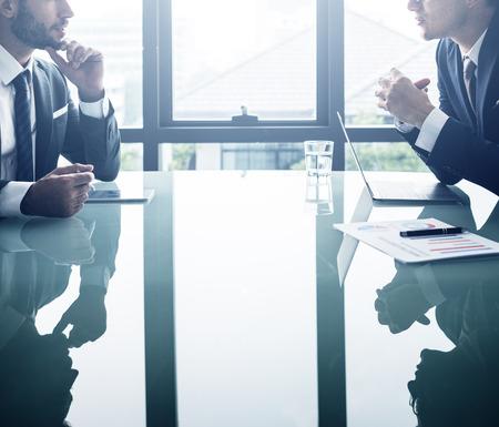 white collar: Businessman Office White Collar Worker Concept