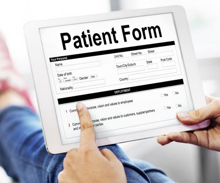 Patient gegevens Vorm Document details Concept