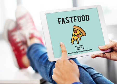 unhealthy snacks: Fast food Unhealthy Snacks Calories Fat Concept Stock Photo