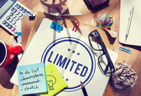 Limited Strategy Unique Valuable Edition Amount Concept