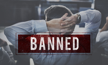 denied: Denied Rejected Banned Failed Stamp Graphic Concept Stock Photo