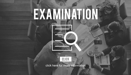 discovery: Examination Research Investigation Discovery Concept