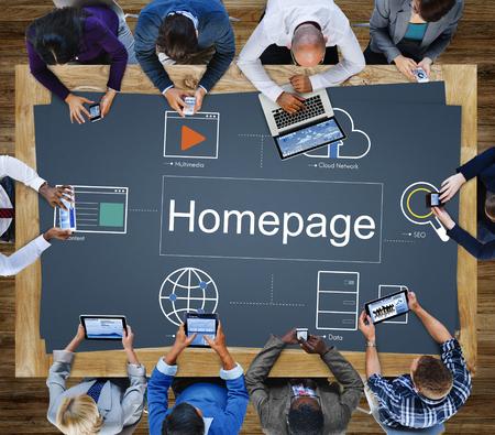web browser: Web Page Webinar HTML Browser Concept