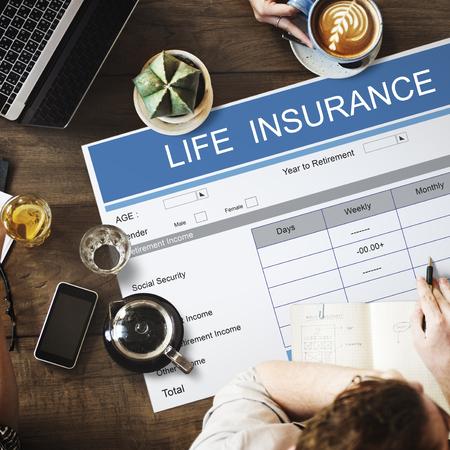 seniority: Retirement Plan Investment Elderly Seniority Concept Stock Photo