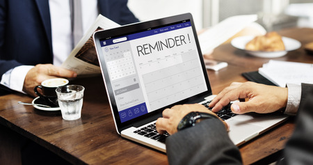 personal organizer: Schedule Calendar Agenda Reminder Personal Organizer Concept