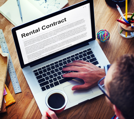 rental: Rental Contract Assets Concept