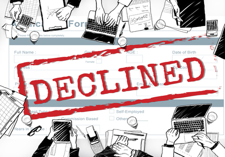 rejection: Declined Rejected Disagreement Rejection Concept