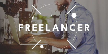 independent: Freelancer Freedom Independent Occupation Concept