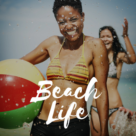 Beach Life Vacation Relaxation Sea Concept