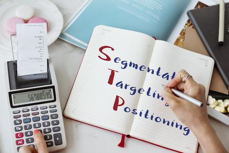 targeting: Segmentation Targeting Positioning Meeting Concept