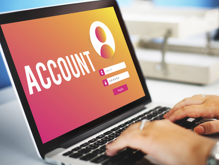 Account Sign In User Password Privacy Concept Stock Photo