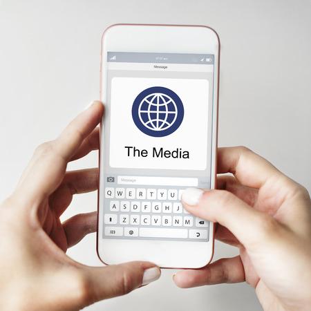 keypad: Keypad Global Communication Internet Concept