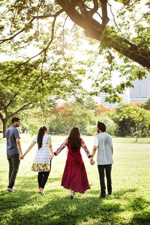 compañerismo: Amigos Compañerismo Junto Fellowship Concept Foto de archivo