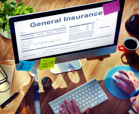 general: General Insurance Health Accident Financial Concept Stock Photo