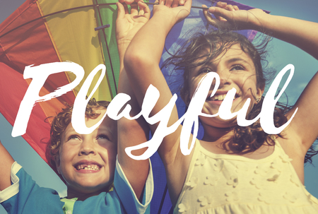 playful: Playful Positive Vibes Freedom Concept