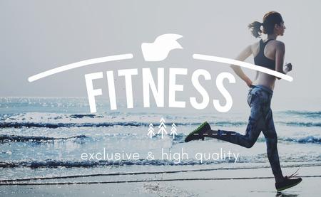 hacer footing: Cuidado de la salud de ejercicio físico Jog Concepto Running