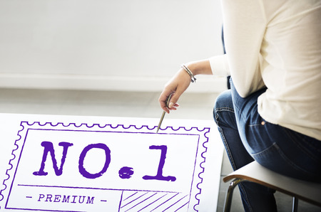 no1: No.1 Product Certificate Sign Concept