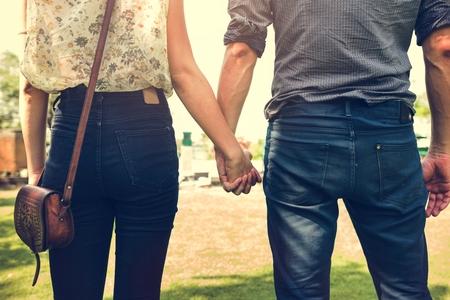 Couple Travel Destination Journey Togetherness Concept