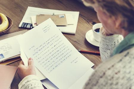 correspond: Letter Mail Message Communication Connection Concept