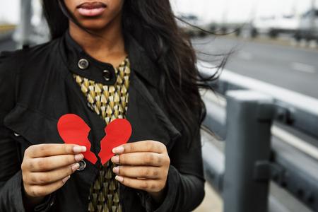 Love Pain Hurt Depressive Disappointed Broken Concept