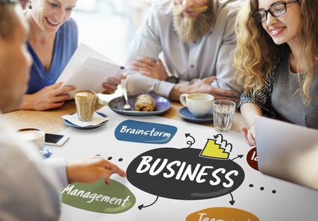 Business Brainstorm Management Ideas Company Concept Stock Photo