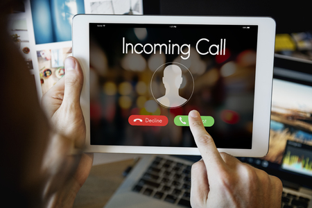 incoming: Incoming Call Communication Connect Concept
