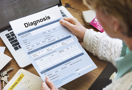 symptoms: Diagnosis Medical Symptoms Treatment Concept
