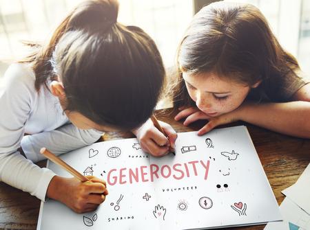 generosidad: Las donaciones generosidad Fundación Caridad Concepto Soporte