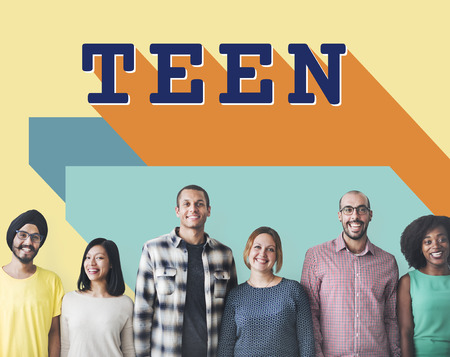 adolescence: Teen Adolescence Lifestyle Young Youth Culture Concept