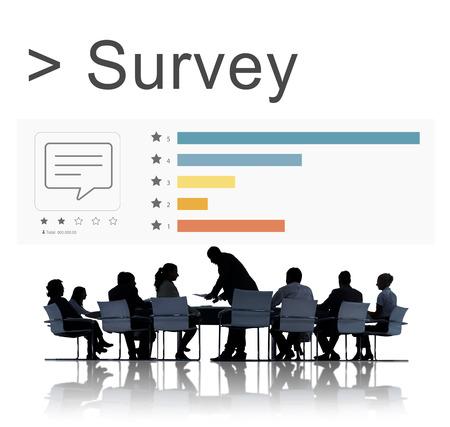 Survey Comment Review Ratings Concept