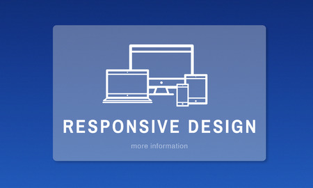 computation: Responsive Design Innovation Computer Concept Stock Photo