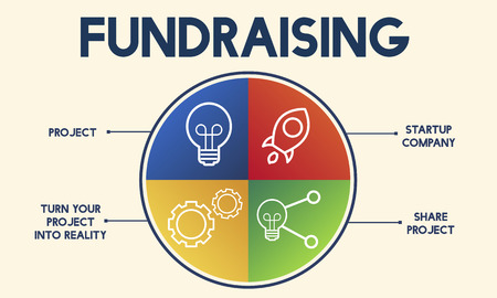 funds: Fundraising Capital Donation Funds Support Concept