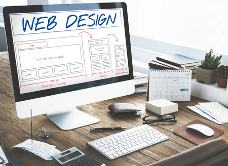 web: Web Design Layout Content Template Graphic Concept