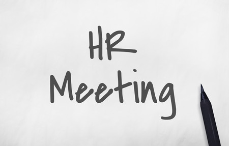 act: HR Meeting Act Now Concept